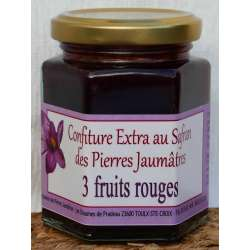 Confiture 3 fruits rouges...
