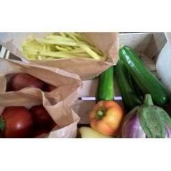 Panier de légumes bio d'été...