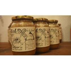 Miel de fleurs/sarrasin 1Kg